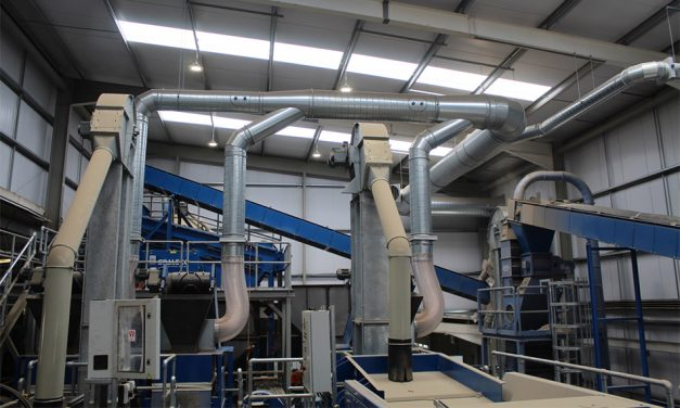 VEKA RECYCLING'S LATEST INVESTMENT INTRODUCES REFINEMENT TO AN OTHERWISE VIOLENT AND NOISY PROCESS