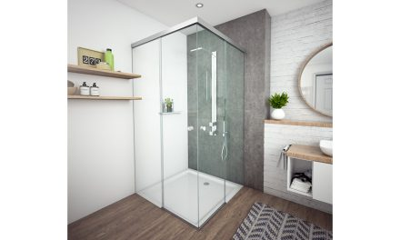 BOHLE HAS THE MARKET 'CORNERED' WITH NEW MASTERTRACK ST SHOWER DOOR