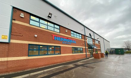 THERMOSEAL GROUP RAMPS UP ITS WARM EDGE PRODUCTION AND INCREASES ITS IG COMPONENT STOCKHOLDING