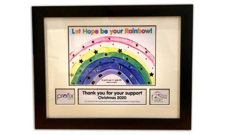 A CORPORATE GIFT TO SHOW YOUR SUPPORT FOR HOPE HOUSE CHILDREN'S HOSPICES