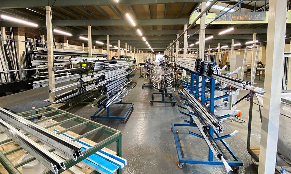 RÄUM RAMPS UP WITH 25,000 SQUARE-FOOT ALI FACTORY