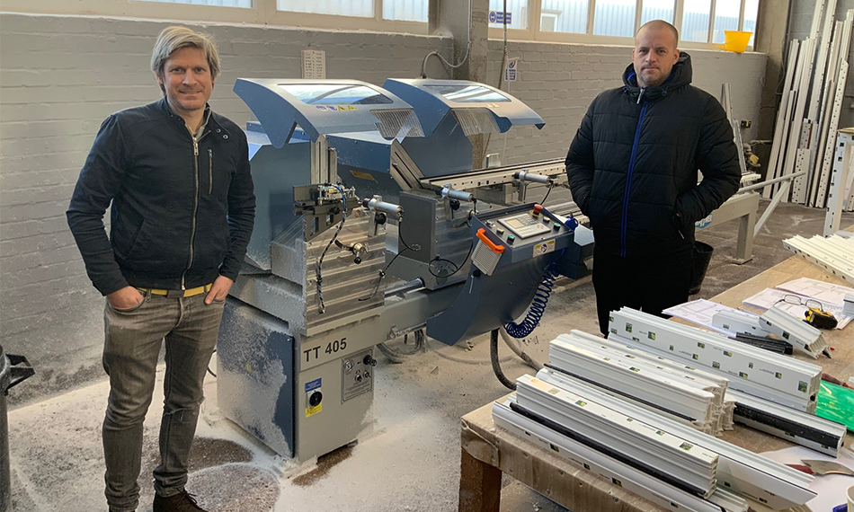 BEDFORDSHIRE WINDOWS GOES FROM STRENGTH TO STRENGTH WITH HAFFNER MURAT