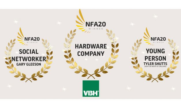 3-UP FOR VBH AT THE NFA AWARDS
