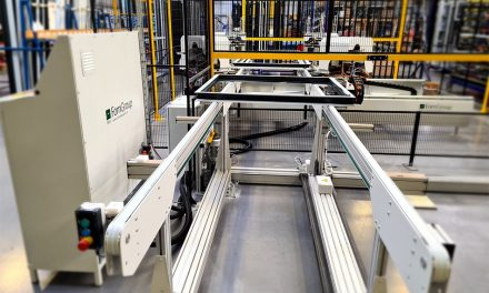 STERNFENSTER INVESTS IN PRECISION  ALUMINIUM CRIMPING TECHNOLOGY