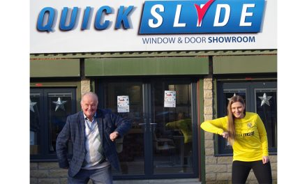 ONE TOWN ONE TEAM!  QUICKSLIDE EXTENDS ITS SUPPORT FOR BRIGHOUSE TOWN FOR TWO MORE YEARS