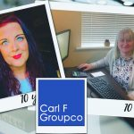 DOUBLE DECADE SERVICE CELEBRATION  AT CARL F GROUPCO