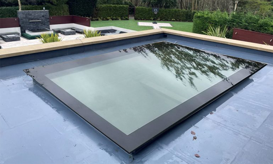 NEW LOOK FOR THE NEW YEAR: TUFFX LAUNCHES 'FRAMELESS' INFINITY ALL GLASS ROOFLIGHTS