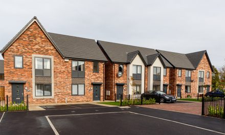OVER 200 SPECTUS WINDOWS FITTED IN NEW GOLD-STANDARD DEVELOPMENT