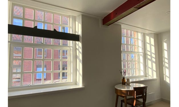 GRANADA'S SECONDARY GLAZING SOLVES NOISE AND THERMAL ISSUES IN GRADE II LISTED CITY APARTMENTS