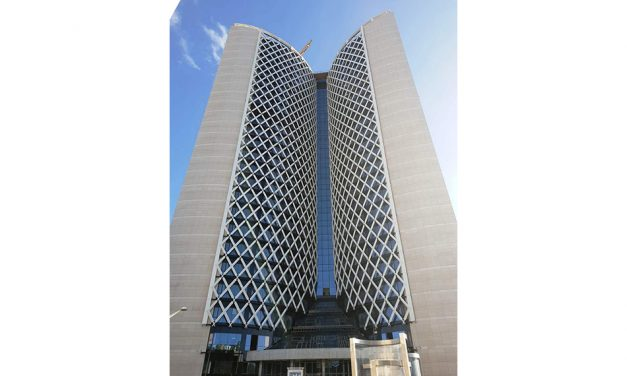 PYROGUARD PROVIDES A MULTI-FUNCTIONAL SOLUTION FOR ALGERIA GULF BANK HEADQUARTERS