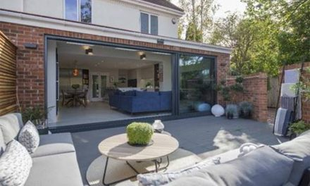 88% OF UK HOMEOWNERS WOULD CONSIDER A BI-FOLD OR SLIDING DOOR WHEN LOOKING TO BRING THE OUTSIDE IN THIS SPRING