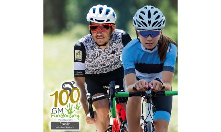 GM FUNDRAISING LAUNCHES THE 'GMF 100' CYCLING CHALLENGE