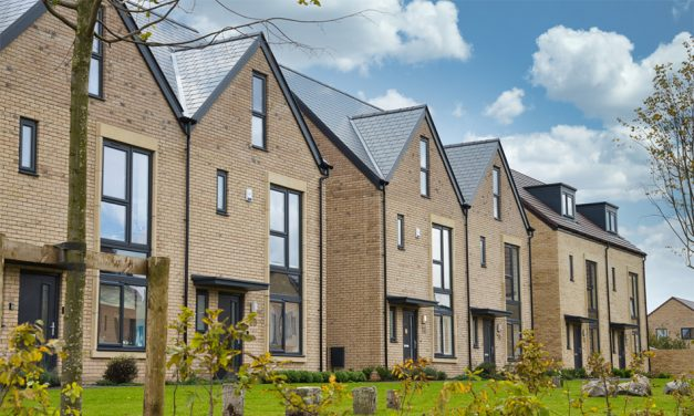 OPTIMA CASEMENT WINDOWS AND DOORS FROM PROFILE 22 SELECTED FOR HIGH QUALITY HOUSING DEVELOPMENT IN BATH
