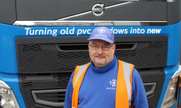 VEKA RECYCLING'S ANDY BURNS CELEBRATES TEN YEARS' SERVICE