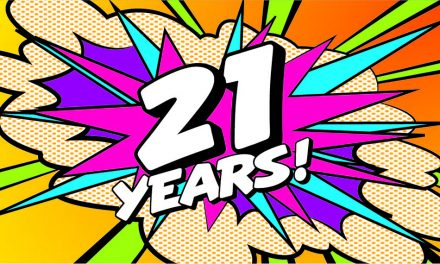 WIDGETS TO CELEBRATE 21 YEAR ANNIVERSARY WITH TYPICAL PINK PANACHE