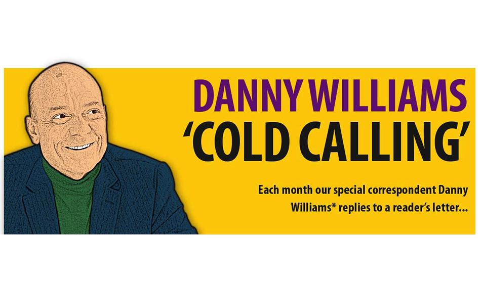 DANNY WILLIAMS 'COLD CALLING' – GLASS NEWS JUNE 2021