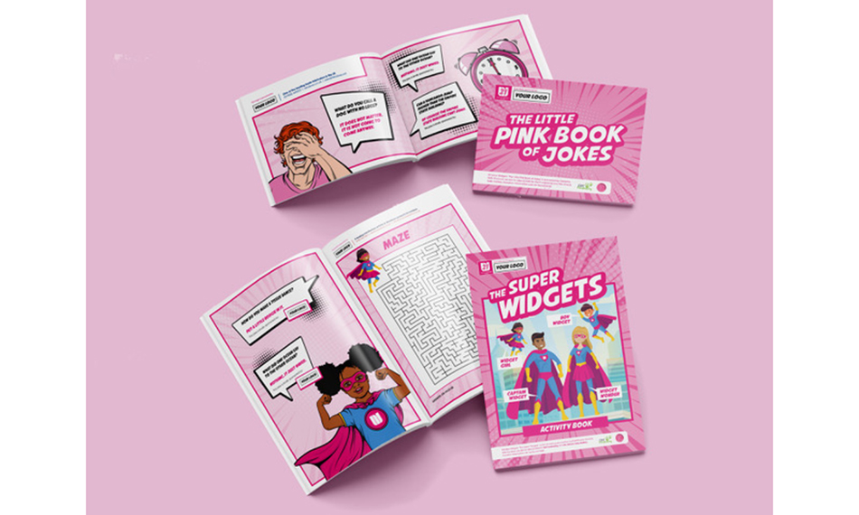 KNOCK, KNOCK…WHO'S THERE? THE LITTLE PINK BOOK OF JOKES