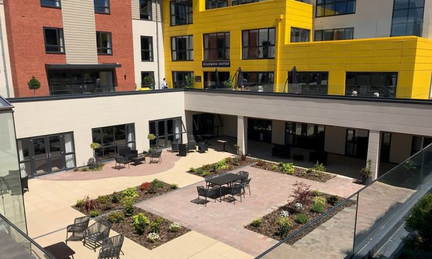 PROFILE 22'S OPTIMA WINDOWS AND DOORS SELECTED FOR CARE HOME AND ASSISTED LIVING APARTMENTS