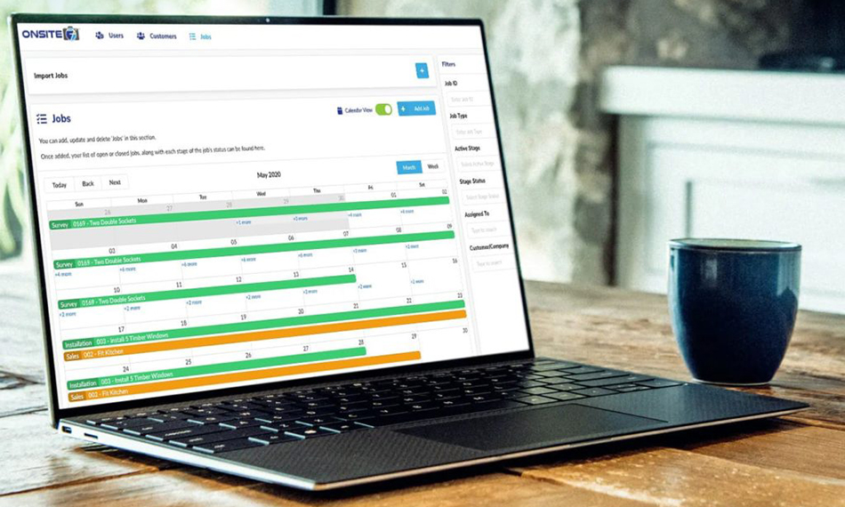 VALUE ADDED FEATURES FROM ONSITE 7 JOB MANAGEMENT SOFTWARE