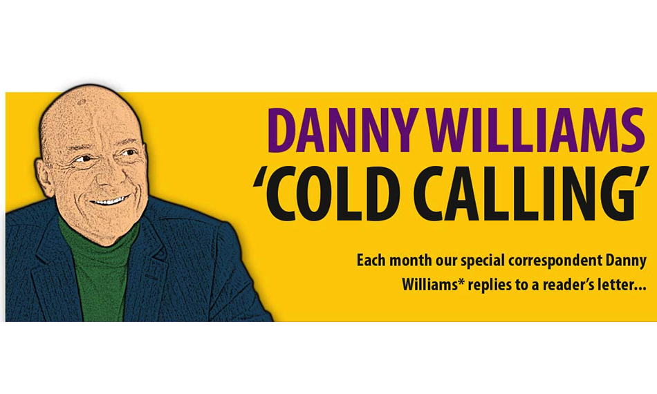 DANNY WILLIAMS – COLD CALLING – GLASS NEWS OCTOBER 2021