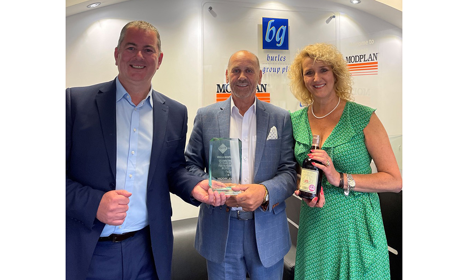 Modplan Celebrates 25 Years With VEKA
