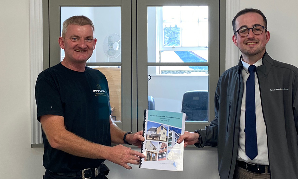 MOORVIEW WINDOWS SIGNS NEW THREE-YEAR SUPPLY AGREEMENT WITH PROFILE 22