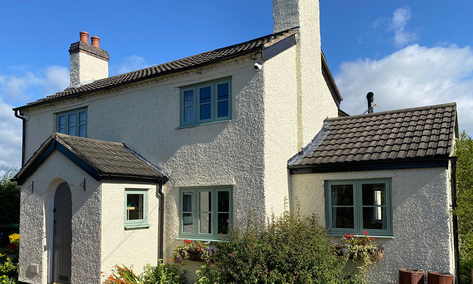 SOUTH CHESHIRE GLASS USES SPECTUS FLUSH CASEMENT WINDOWS FOR COTTAGE RENOVATION