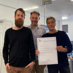 AS SIMPLE AS SKETCHING ON A PAD –  TOMMY TRINDER GET PATENT FOR UNIQUE DRAWING INTERFACE